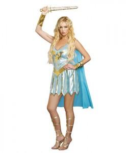 Medieval Dragon Warrior Queen Dress