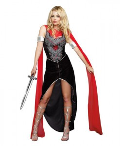 Scandalous Sword Warrior Costume