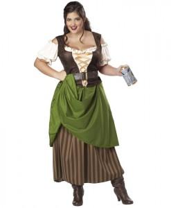 Tavern Maiden Adult Plus Costume