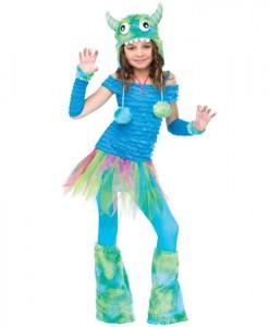 Blue Beasty Child Costume