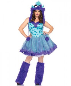 Polka Dotty Adult Plus Costume