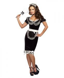 Keep It Clean Sexy Maid Dress
