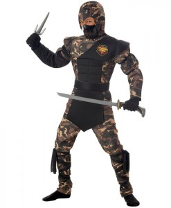 Special Ops Ninja Child Costume