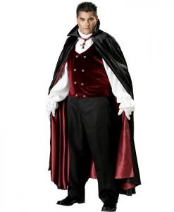 Gothic Vampire Elite Collection Adult Plus Costume