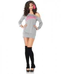 Flashdance - Sweatshirt Dress Adult Costume