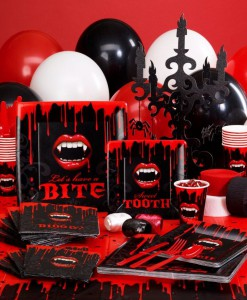 Fangtastic Halloween Deluxe Party Kit